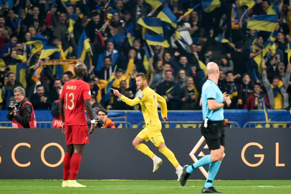 Euro 2020, vòng loại euro 2020, đội bóng giành vé dự Euro 2020, Bồ Đào Nha thua Ukraine, kết quả vòng loại Euro 2020