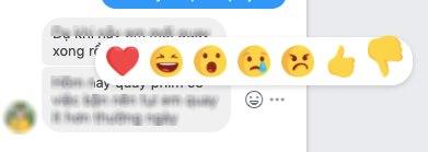Nút Dislike xuất hiện trên Facebook, nhưng cụ thể là chủ trong tính năng Messenger.