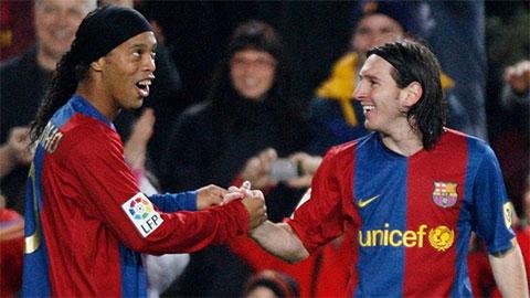 Messi chi tiền giải cứu Ronaldinho khỏi nhà tù