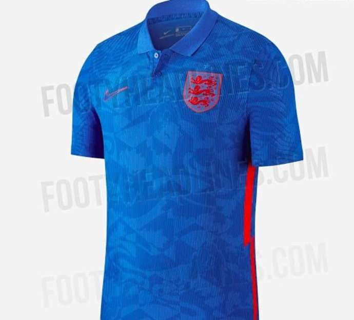 England's new away kit for Euro 2020 has been leaked online - Bóng Đá