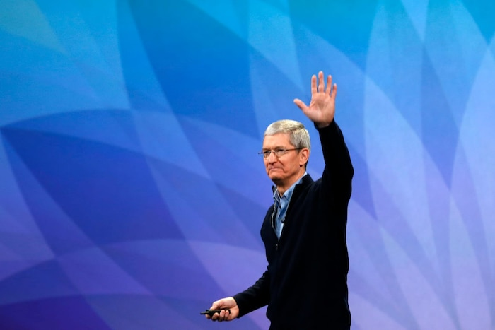 Apple CEO Tim Cook. (Ảnh: Getty)