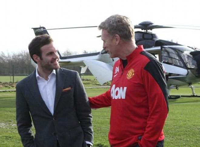 Mata đã không vui khi chứng kiến Moyes bị sa thải