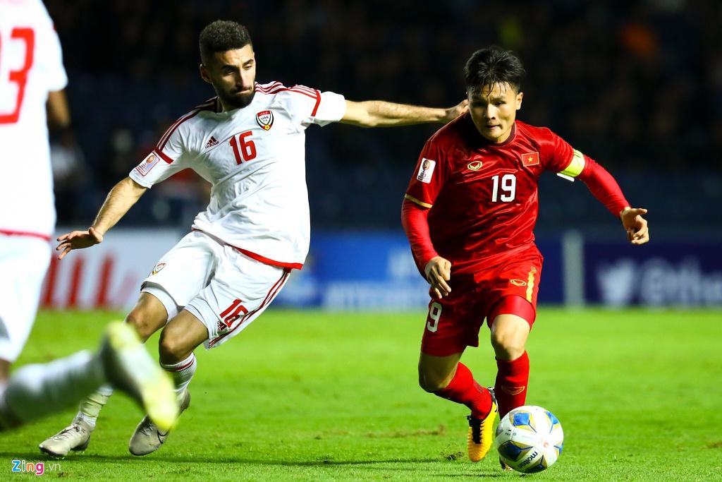 Doi hinh nhung cau thu thuan chan trai cua bong da Viet Nam hinh anh 10 Quang_Hai_vs_U23_UAE_2_zing.jpg