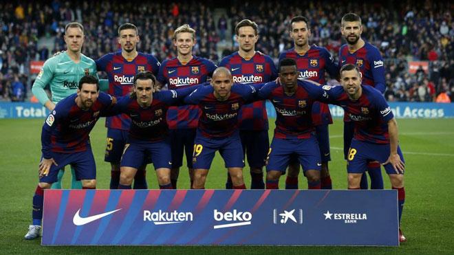 """""""Ông trùm"""" Messi & đồng đội khiến Barca """"ngắc ngoải"""" vì hành động này - 2"""