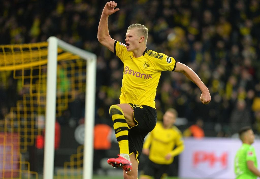 Erling Haaland lập thêm kỷ lục ghi bàn tại Bundesliga