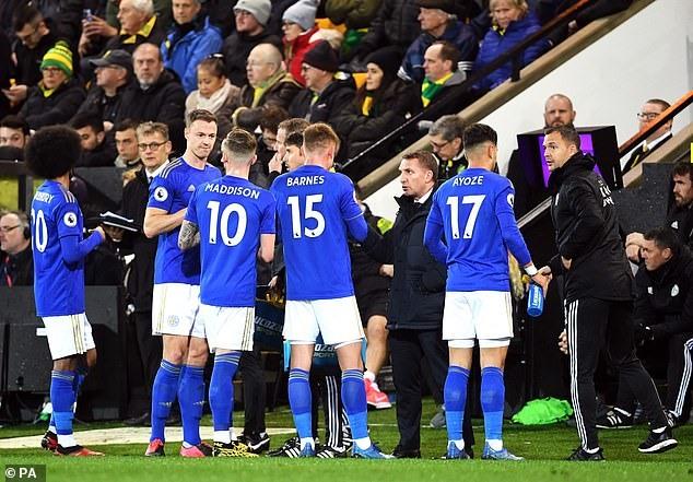 Một số cầu thủ Leicester không đảm bảo sức khỏe. Ảnh: PA