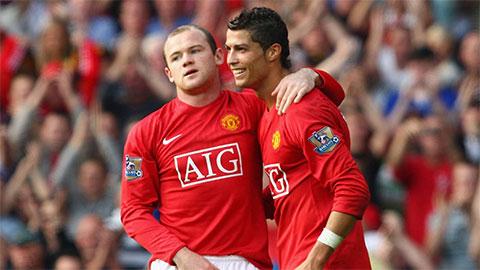 Rooney bật mí bí kíp giúp Ronaldo tăng cân trở thành lực sỹ