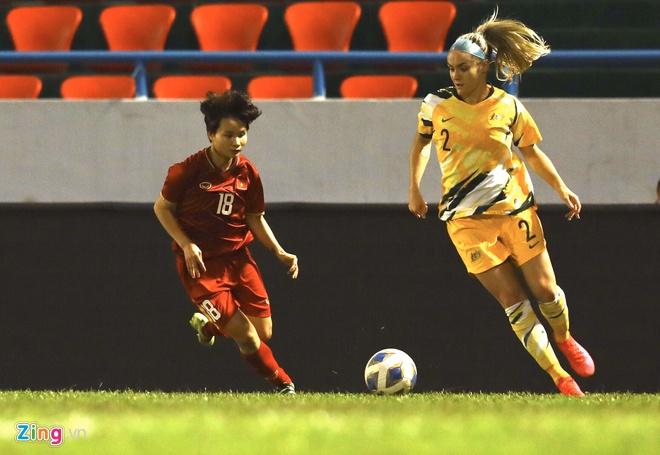 Tuyen nu Viet Nam 1-2 Australia: Huynh Nhu ghi ban thang lich su hinh anh 1 5_zing_2_.jpg