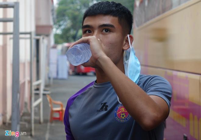 Tuyen thu U23 Viet Nam co than nhiet bat thuong hinh anh 1 1_zing.jpg
