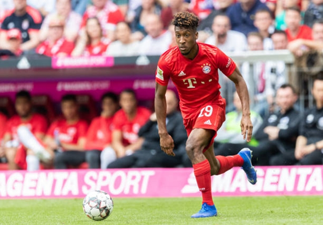 Kingsley Coman is reportedly negotiating terms of a new contract with Bayern Munich. - Bóng Đá