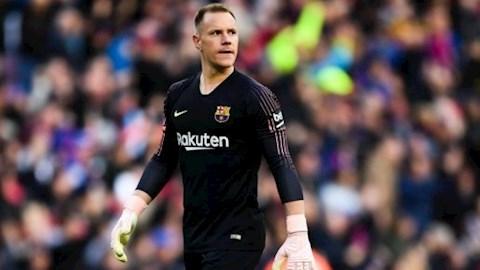 Stegen ký hợp đồng mới với Barca hình ảnh
