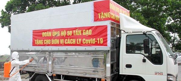 """Nữ """"đại gia chân đất"""" Bắc Giang bất ngờ ủng hộ 50 tấn gạo chống Covid-19 - 2"""