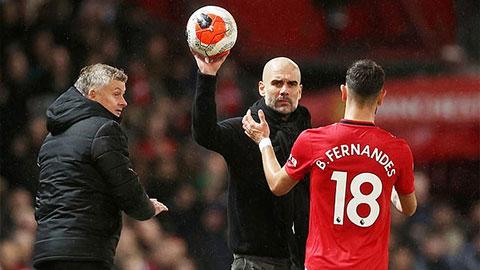 Tại sao Bruno Fernandes dám lên mặt đòi HLV Guardiola 'ngậm miệng'?