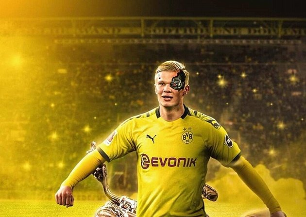 Man Utd to battle Real Madrid for Dortmund's Haaland - Bóng Đá