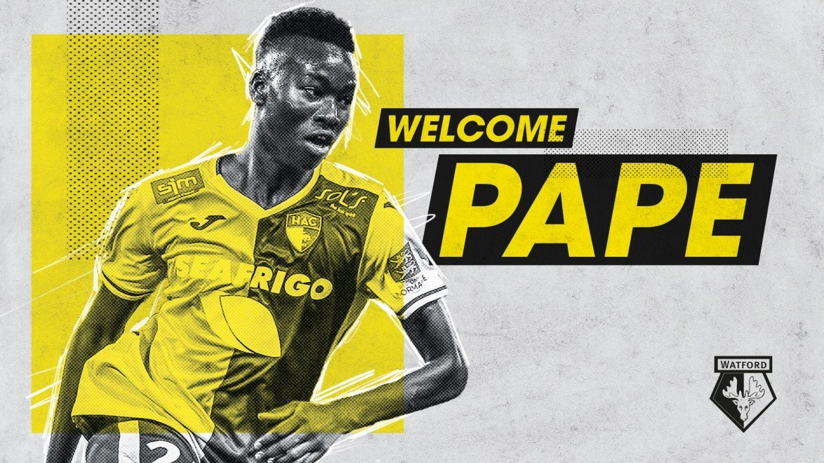 Watford confirm signing of Pape Gueye on five-year deal - Bóng Đá