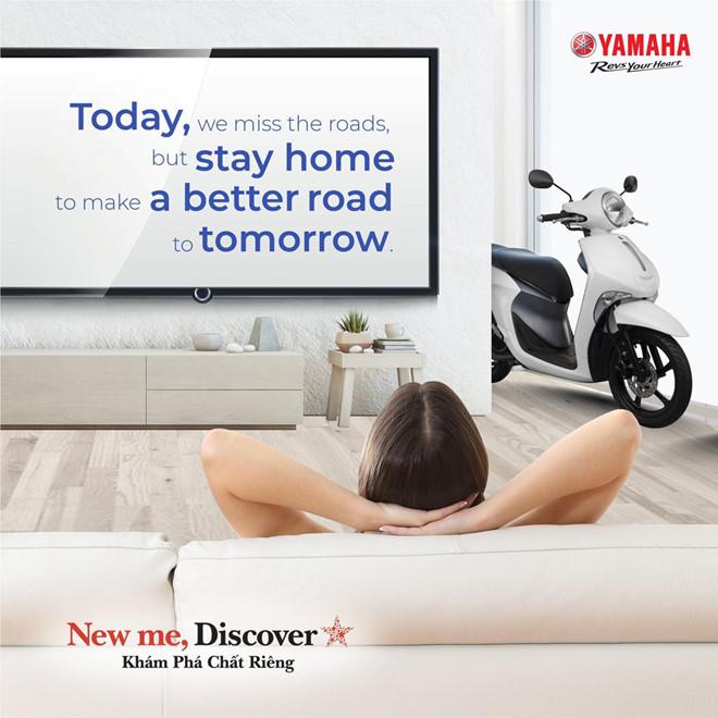 Yamaha Motor VN tạm dừng sản xuất: Lan tỏa thông điệp an toàn giữa dịch Covid-19 - ảnh 1