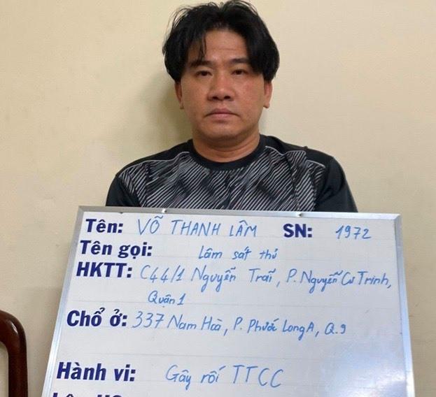 Công an TP.HCM bắt giam bị can giang hồ cộm cán Lâm 'sát thủ' - ảnh 1