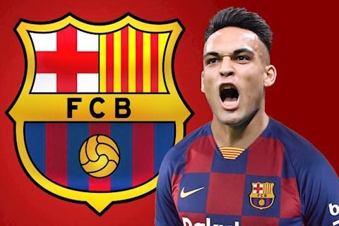 Tiền đạo Lautaro Martinez không tới Barca vì lý do bất ngờ hình ảnh