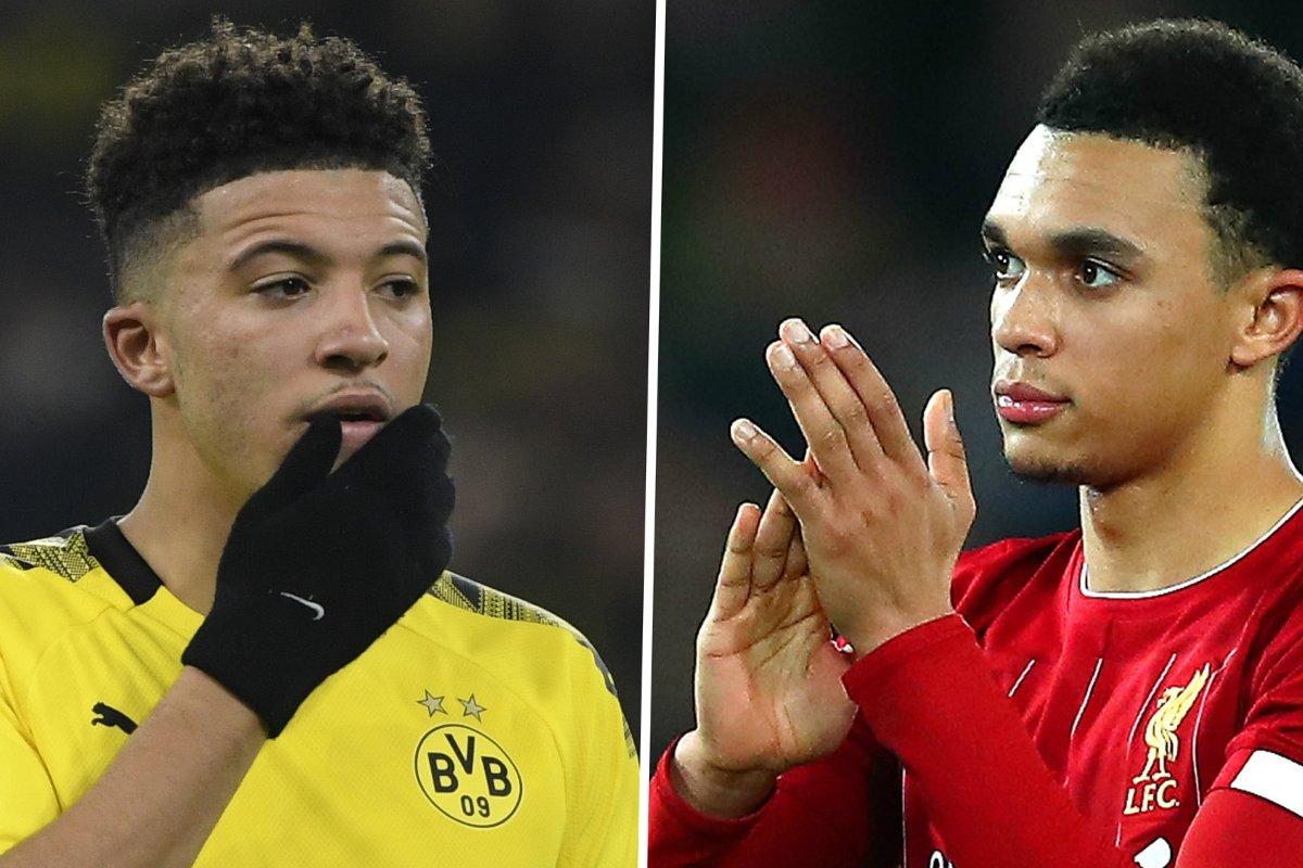 Trent Alexander-Arnold urges Manchester United transfer target Jadon Sancho to join Liverpool - Bóng Đá