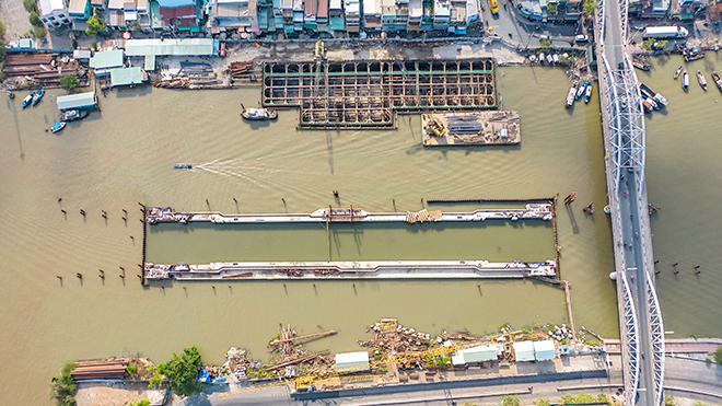 Ảnh nhìn từ trên cao dự án chống ngập 10.000 tỷ đồng ở Sài Gòn - 12