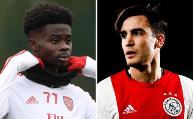 Arsenal boss Mikel Arteta targets Ajax left-back Nicolas Tagliafico to allow Bukayo Saka to flourish - Bóng Đá
