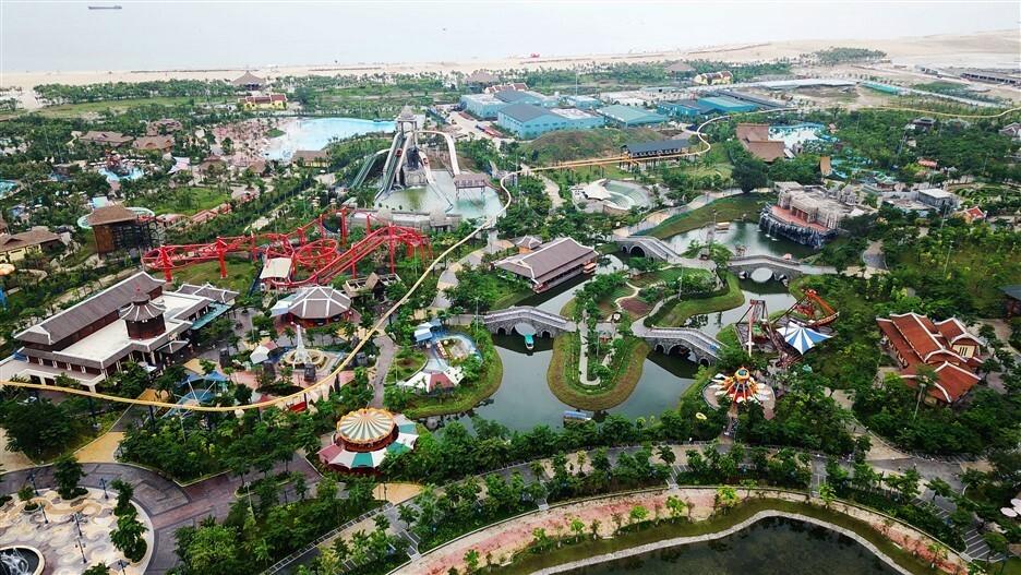 Khu giải trí Sun World Halong Complex với nhiều trò chơi hấp dẫn.