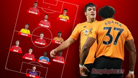 Đội hình M.U sẽ mạnh thế nào nếu có Sancho, Koulibaly, Jimenez và Traore?