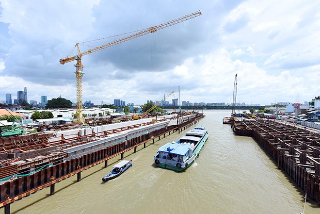 Ảnh nhìn từ trên cao dự án chống ngập 10.000 tỷ đồng ở Sài Gòn - 11