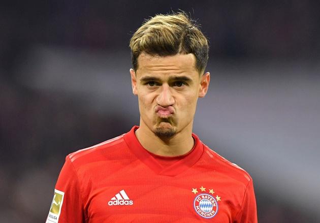 Bayern won't exercise 120-million-euro option to buy Coutinho - Bóng Đá