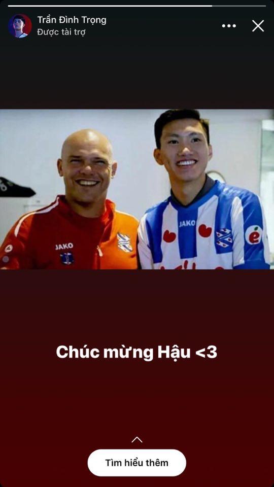 Đoàn Văn Hậu đã ký hợp đồng mới với SC Heerenveen?