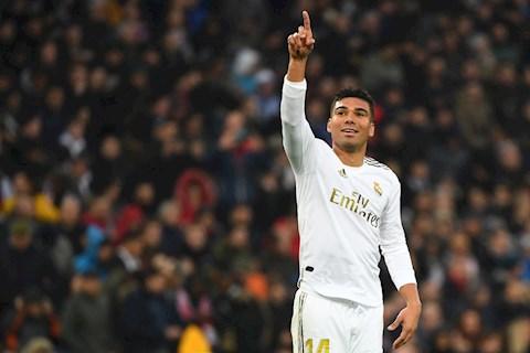 Real Madrid ký hợp đồng mới với tiền vệ Casemiro hình ảnh