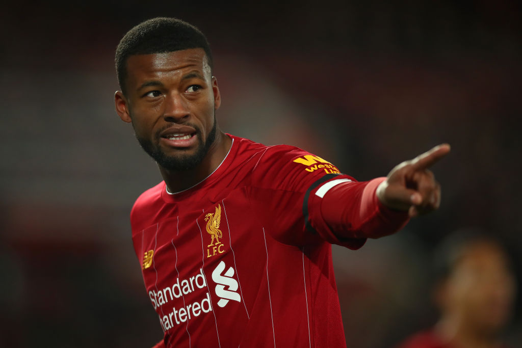 Rumor in Italy: Wijnaldum can leave Liverpool for new Serie A adventure - Bóng Đá