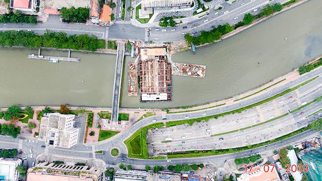 Ảnh nhìn từ trên cao dự án chống ngập 10.000 tỷ đồng ở Sài Gòn - 13