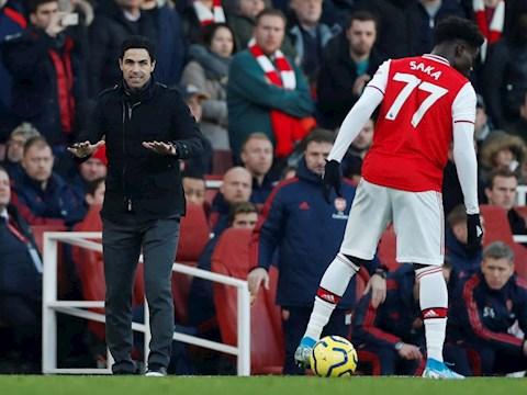 HLV Arteta thuyết phục sao trẻ Bukayo Saka ở lại Arsenal hình ảnh