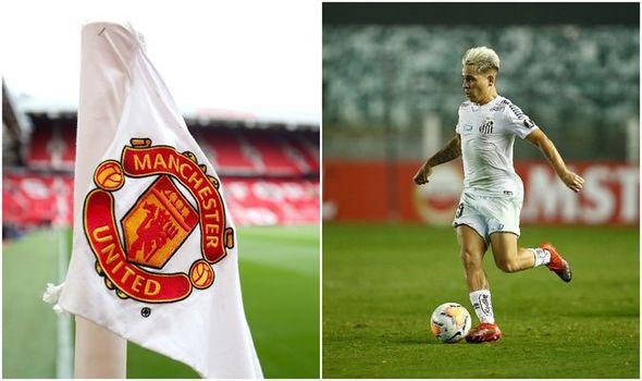 Santos star reveals Man Utd transfer 'dream' and eyes 'lifetime contract' at Old Trafford - Bóng Đá