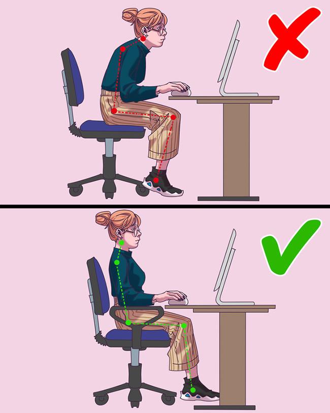 Đừng để 10 thói quen xấu này làm hại sức khoẻ khi ngồi văn phòng - Ảnh 3.