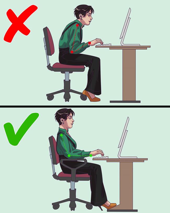 Đừng để 10 thói quen xấu này làm hại sức khoẻ khi ngồi văn phòng - Ảnh 8.