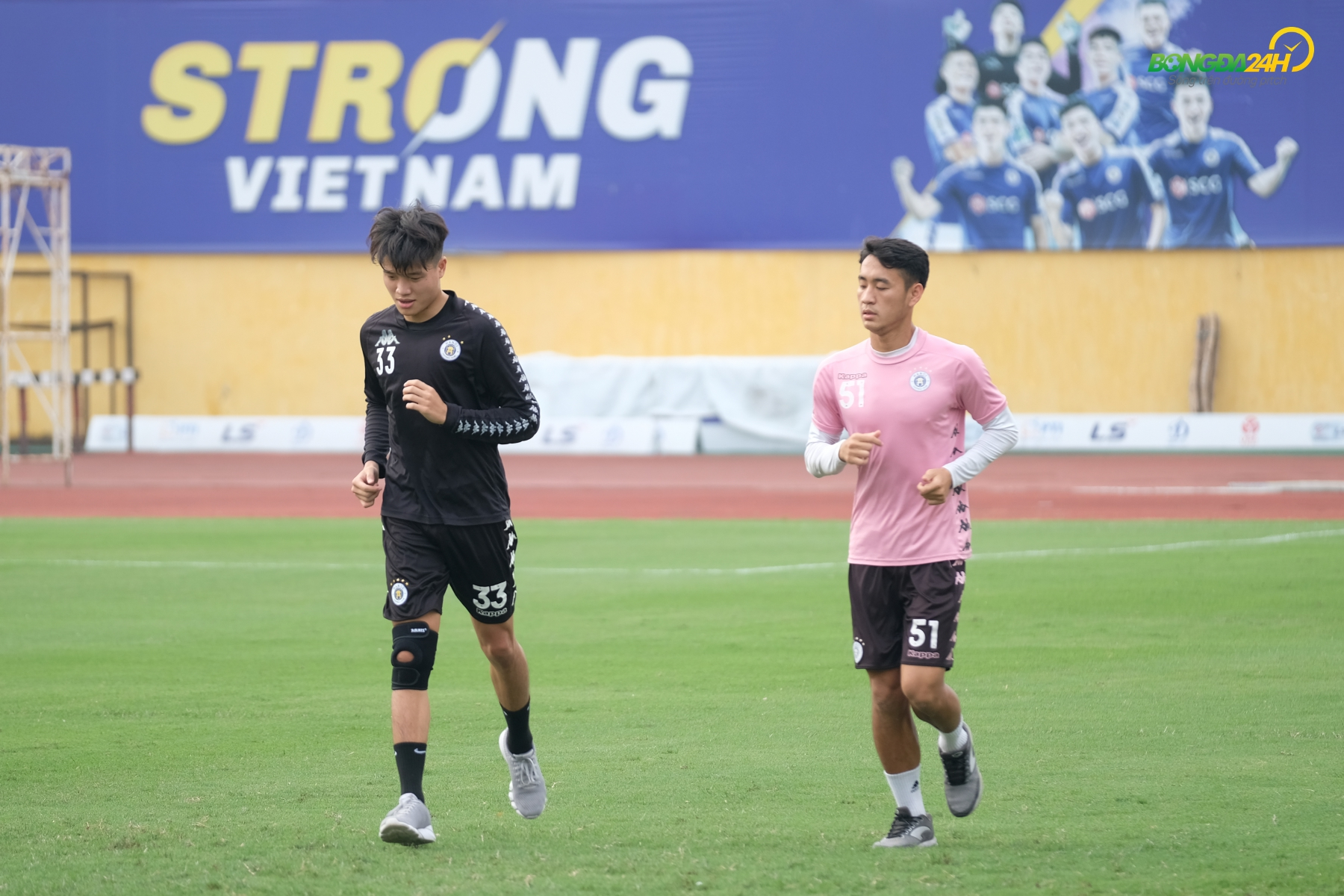 Phi Minh Long Le Xuan Tu CLB Ha Noi tap 28/5