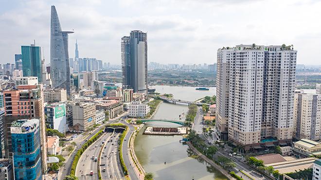 Ảnh nhìn từ trên cao dự án chống ngập 10.000 tỷ đồng ở Sài Gòn - 1