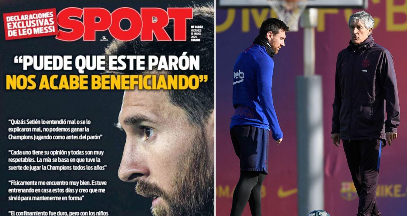 bóng đá, bong da, bong da hom nay, messi, lionel messi, barcelona, barca, quique setien, Cúp C1, Champions League