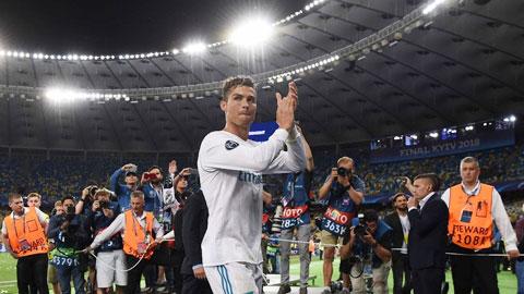 Trận chung kết Champions League 2018 tại Kiev chính là lần cuối cùng Ronaldo khoác áo Real Madrid