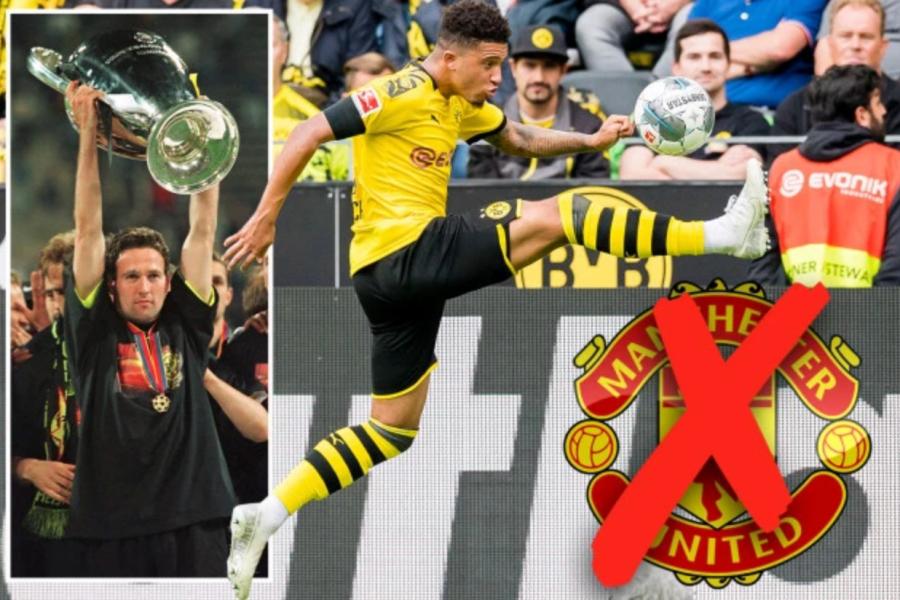 Huyền thoại Dortmund khuyên Jadon Sancho tránh xa MU hình ảnh