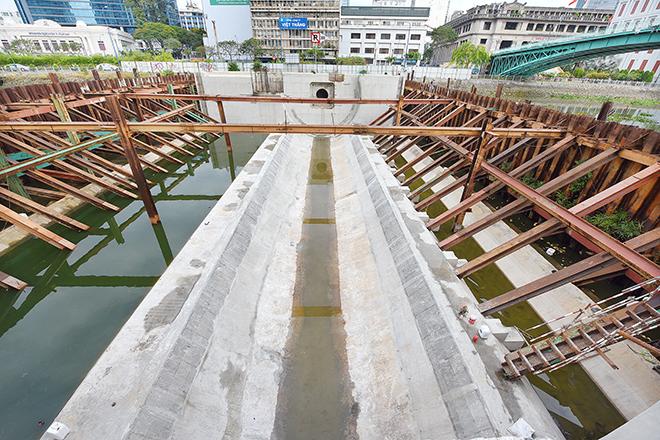 Ảnh nhìn từ trên cao dự án chống ngập 10.000 tỷ đồng ở Sài Gòn - 14