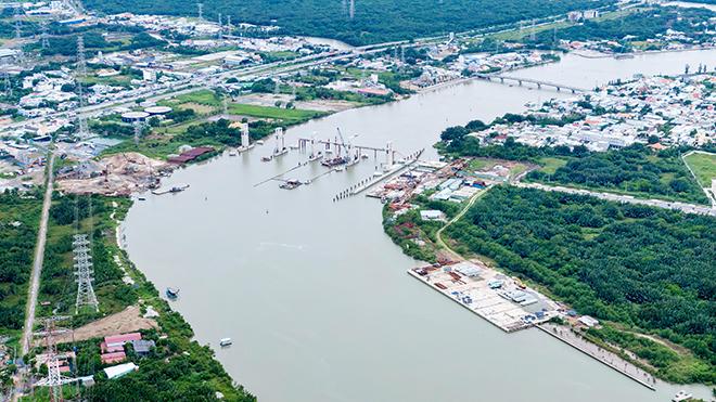 Ảnh nhìn từ trên cao dự án chống ngập 10.000 tỷ đồng ở Sài Gòn - 2