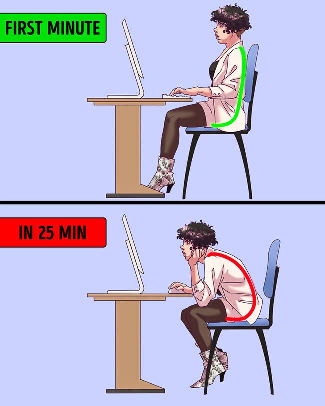 Đừng để 10 thói quen xấu này làm hại sức khoẻ khi ngồi văn phòng - Ảnh 6.