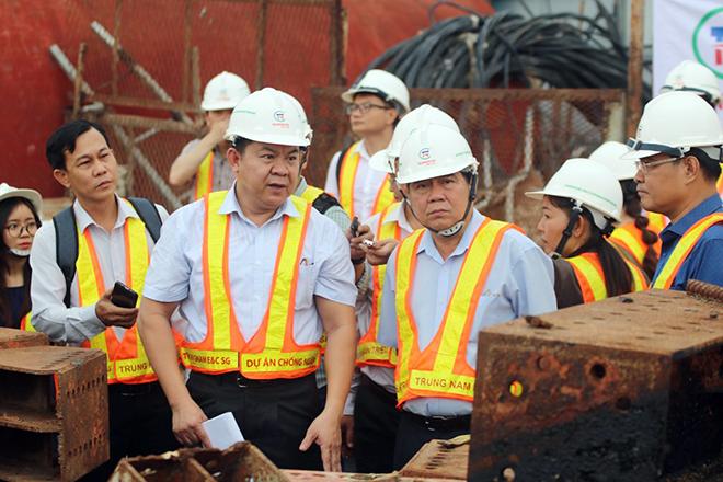 Ảnh nhìn từ trên cao dự án chống ngập 10.000 tỷ đồng ở Sài Gòn - 16