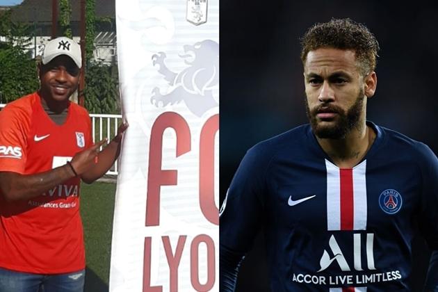 PSG forward Neymar's cousin joins French side FC Lyon - Bóng Đá