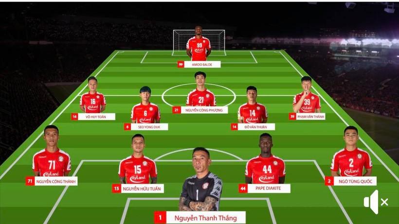 V-League 2020, TP.HCM 2-2 Đà Nẵng: 5 phút cuối điên rồ trên sân Thống Nhất - ảnh 1