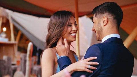 Asensio đính hôn với nữ sinh viên kiến trúc