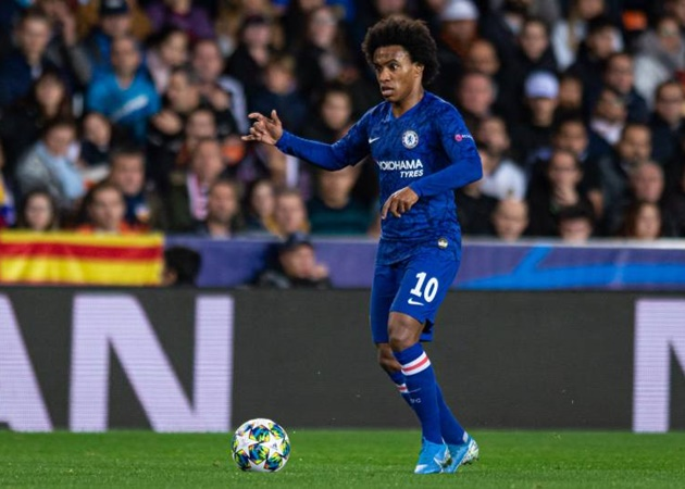 Willian speaks out on Chelsea future amid transfer interest from Manchester United and Arsenal - Bóng Đá